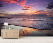 Mokapu Sunset wallpaper mural living room preview