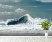 Danny's Kona Wave - Dramatic Crashing Wave wall mural in-room view