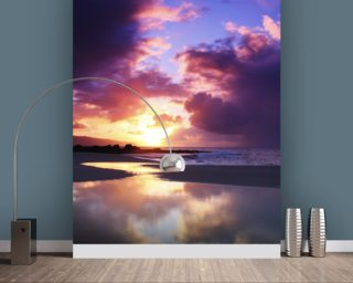 Beautiful Sunset - Oahu wallpaper mural