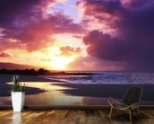 Beautiful Sunset - Oahu wallpaper mural kitchen preview