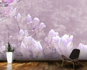 Flower Blossoms On Tree Branch wallpaper mural kitchen preview