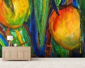 Mango Tree wall mural living room preview