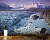 Knik & Colony Glacier Matanuska Valley Chugach Mountains wallpaper mural kitchen preview