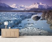 Knik & Colony Glacier Matanuska Valley Chugach Mountains wallpaper mural living room preview