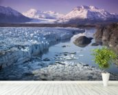 Knik & Colony Glacier Matanuska Valley Chugach Mountains wallpaper mural in-room view