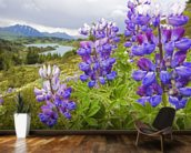 Lupine Flowers Near Lost Lake Seward wall mural kitchen preview