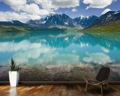 Turquoise Lake In Lake Clark National Park wall mural kitchen preview
