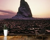 Sunset Over Rock Kayak Island wall mural kitchen preview