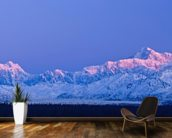 Panoramic View Of Sunrise Over Mt. Mckinley mural wallpaper kitchen preview