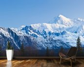 Panoramic View Of Southside Mount Mckinley mural wallpaper kitchen preview