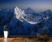 Mtn Peak next to Mt Fairweather wallpaper mural kitchen preview