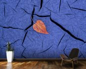 Autumn Colored Cottonwood Leaf mural wallpaper kitchen preview