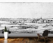 The Goldweighers Field near Haarlem, 1651 (etching) wall mural kitchen preview