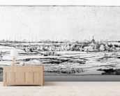 The Goldweighers Field near Haarlem, 1651 (etching) wall mural living room preview