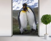 King Penguin Pair - Mating Behavior wall mural in-room view
