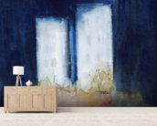 Abstract Watercolour Painting mural wallpaper living room preview
