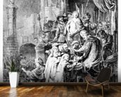 The Judgement of Christ, c.1636 (etching) wall mural kitchen preview