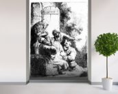 Josephs coat brought to Jacob, c.1633 (etching) wallpaper mural in-room view