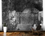 The Entombment, c.1654 (etching) wall mural kitchen preview