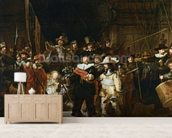 The Nightwatch (colour litho) wall mural living room preview