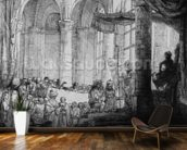 Medea, or the Marriage of Jason and Creusa, 1648 (etching & drypoint) wall mural kitchen preview