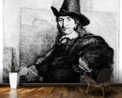 Jan Asselyn, c.1647 (etching) wall mural kitchen preview