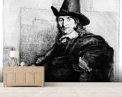 Jan Asselyn, c.1647 (etching) wall mural living room preview
