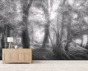 Light Deepening Shadows wall mural living room preview