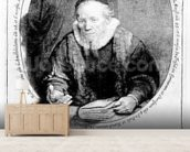 Jan Cornelisz Sylvius, 1646 (etching) wallpaper mural living room preview