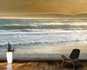 Light Seaspray mural wallpaper kitchen preview
