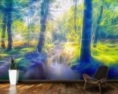 Light Stream Ambling wallpaper mural kitchen preview
