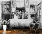 Christ Presented to the People, 1655 (drypoint) wall mural kitchen preview