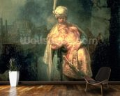 David and Jonathan, 1642 (oil on panel) wall mural kitchen preview