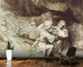 The Agony in the Garden (etching) wallpaper mural kitchen preview