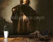 Self Portrait in Oriental Costume, 1631 (oil on panel) mural wallpaper kitchen preview