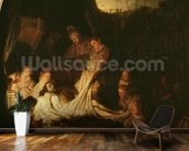 The Entombment, c.1639 (oil on panel) wall mural kitchen preview