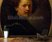 Self Portrait, 1633 (oil on panel) wall mural kitchen preview