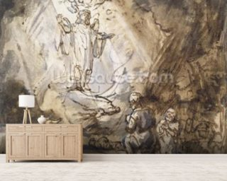 Annunciation to the Shepherds Mural Wallpaper Wall Murals Wallpaper