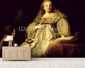 Artemisia, 1634 (oil on canvas) wall mural living room preview