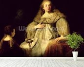 Artemisia, 1634 (oil on canvas) wall mural in-room view