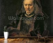 Portrait of an Elderly Woman, c. 1650 wall mural kitchen preview