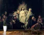 The Incredulity of St. Thomas wallpaper mural kitchen preview
