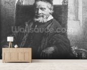 Jean Lutma, 1656 (etching) (b/w photo) wall mural living room preview