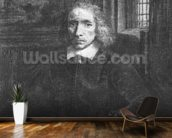 Thomas Jacobsz Haaring the Younger, 1656 (etching) (b/w photo) wallpaper mural kitchen preview