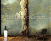 Christ on the Cross (oil on canvas) wallpaper mural kitchen preview