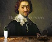 Portrait of Maurits Huygens, 1632 (oil on panel) wallpaper mural kitchen preview