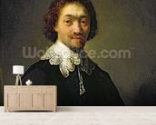 Portrait of Maurits Huygens, 1632 (oil on panel) wallpaper mural living room preview