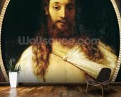 Ecce Homo (oil on canvas) wall mural kitchen preview