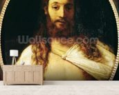 Ecce Homo (oil on canvas) wall mural living room preview