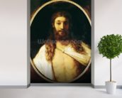 Ecce Homo (oil on canvas) wall mural in-room view